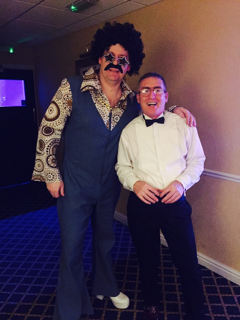 Wayne Jenson and Martin Vickers at NYE 2016-17