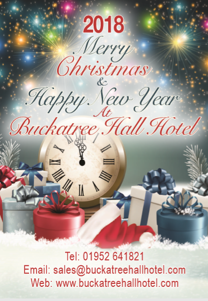 Christmas Brochure Front Cover 2018