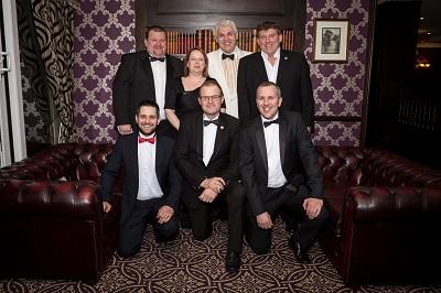 Trustees - Standing L- R Clive Watton, Sara Nunn, Grant Moon, Michael Handley. Kneeling L- R Matt Randles, Jonathan Nunn, Steve Arnold