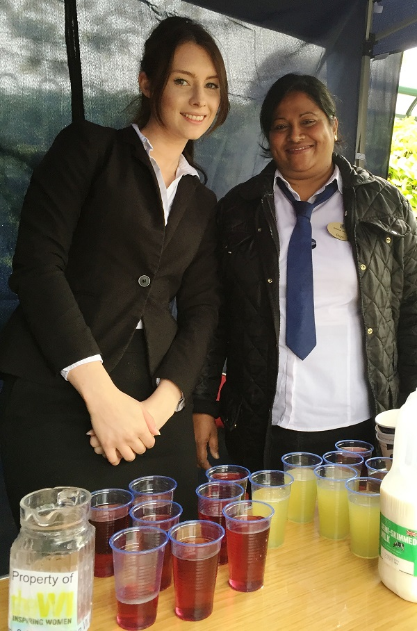 Leanne Roberts, F&B Manager, and Priya Don, Catering Assistant at Buckatree Hall Hotel